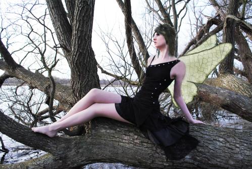 color dark haired fairy)